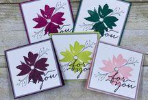 3 x 3 notecards