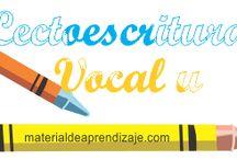 Lectoescritura vocal u