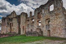 Burgruinen Süddeutschlands