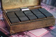 Magic deck box