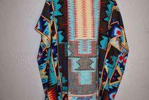 scarf to kimono