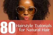 My Natural hair style/ tips