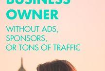 Entrepreneurship & Business / Tips for entrepreneurs to create, establish, grow their online business and make money.