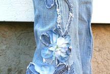 spodnie dekoracje