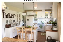 Dream Kitchens / by Kristi @ Little Miss Scatter-Brain