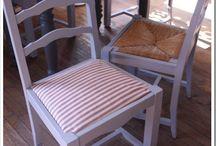 mes chaises à relooker