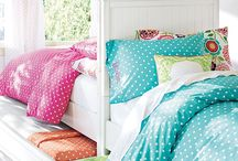 Children's Bedroom / Fabric and interior ideas to inspire you to create a wonderland for children.
