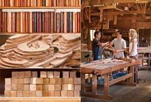 Móveis de madeira - Wood Furniture / by Portal Casa.com.br