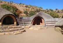 Day Trip 1 / Excursion to Golden Gate, Basotho Cultural village, Clarens