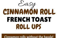 Cinnamon french toast