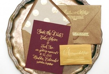 Invitation liners / by Nadia Ratner
