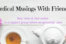 Medical Musings with Friends / This group is a place for bloggers with Chronic Illness to share their posts with like minded friends, travelling a similar road. If you would like to collaborate, please email me: medicalmusings@bigpond.com.