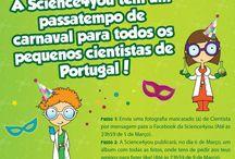 Passatempos e Prémios / Passatempos Science4you: veja aqui os mini-cientistas de Portugal em ação!