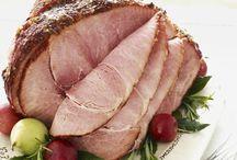 ham/turkey/roast / by Courtney Slay