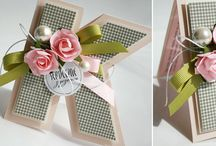 Cards - Ribbons, Bows , Pom Poms, Doilies