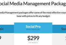 Social Media Packages / Professional social media marketing for your business on Facebook, Twitter, Google Plus, and Pinterest. http://serpraider.com/social-media-marketing/