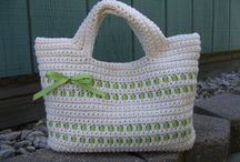 Crocheting-bags