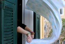 Παράθυρα, πόρτες, κάγκελα & ρόπτρα στη Λευκάδα