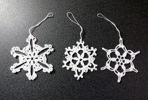 My works - Crochet Snowflakes / My works