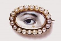 Georgian Eye Jewelry 1700's
