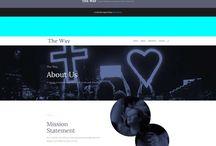 KAC | New Website - Mood Board