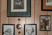 Shakespeare / In honor of Shakespeare's 450th birthday, here are some items in my home that showcase his work.