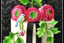 Cake techniques and design