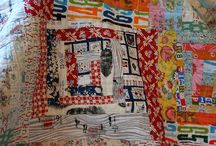 Tripping Over Logs / Log Cabin Blocks and Quilts made Modern