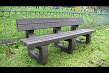 Videos on Bench Products / Recycled Plastic Benching is maintenance-free, long lasting and Eco-friendly. They're ideal for Parks, Gardens, Playground, Zoo's, or anywhere in need of a strong, robust, easy to clean bench, thats also a nice place sit.