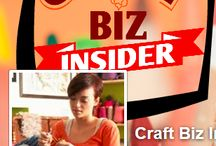 Craft Biz Insider Social Media STUFF! / All your Craft Biz Insider social media goodness!
