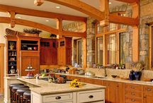 Timber Frame Home Interior Design