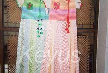 Rangrez / Hand Blocked Cotton Dresses