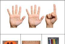 Cijfers en ordenen / Lesideeën, activiteiten rondom cijfers en ordenen