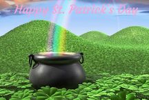 St. Patrick's Day / Good Luck, lots of green and fortune on St. Patrick's Day.