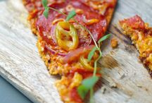 Pizza und Fingerfood