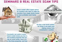 David Lindahl Investment Seminars & Real Estate Scam Tips / David lindahl real estate scam tips is very useful for make high profit and avoid real estate scam in industry. He is teaching about buy home tips, real estate investments tips, how to earn profit in industry.