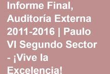 AUDITORÍA EXTERNA 2011-2015