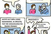 Humor ateistyczny tłumaczenia / Moje tłumaczenia ateistycznych rysunków satyrycznych