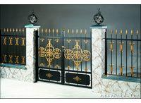 Ferforje Kapılar - Wrought Iron Doors / Fatih ferforje ürünleri ile yapılmış ferforje kapı uygulamaları / Doors applications made with wrought iron products by Fatih Wrought Iron