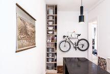 Bicis Decó / La bicicleta se ha convertido en un elemento decorativo (y útil) más de nuestras vidas.