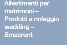 noleggio matrimoni
