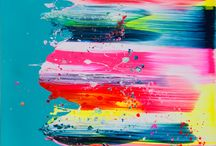 Inspirationsl journal: Neon/vibrant / by Nicola Hobbs