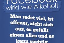 FACEBOOK-Sprüche