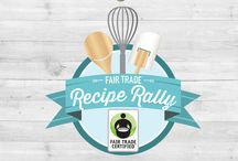 Fair Trade Recipe Rally 2015 / OCTOBER 1st - OCTOBER 31st! In the spirit of Fair Trade Month, we invited food bloggers to bring a dish to our virtual Recipe Rally party! These recipes honor the incredible farming communities that grow our favorite products. Browse these drool-worthy recipes and photos, and then vote for your favorites by re-pinning them on Pinterest. Visit http://BeFair.org!