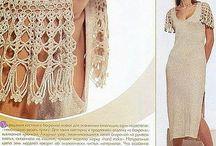 Detalles para vestidos de crochet