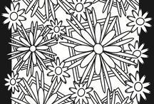 Colouring for big kids / Colouring pages