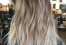 blond wlosy