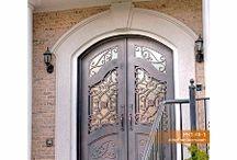 Abby Iron Doors / Customized Wrought Iron Doors