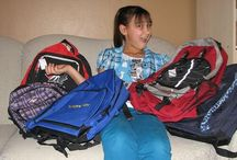 Callie's Backpacks for Winnipeg's Homeless