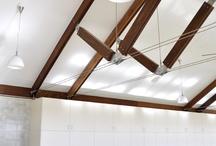 estructuras / La relación entre el peso de la estructura y la carga que es capaz de soportar es fundamental para la arquitectura sostenible. Las estructuras tienden por tanto a desmaterializarse.